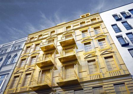 Altbau Fassade gold